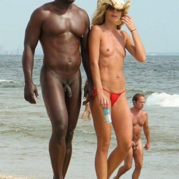 Nudist Bilder schwarzer