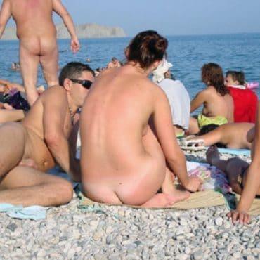 Viele Nudist Bilder